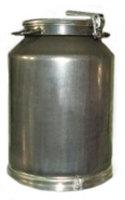 Фляга молочная алюминиевая, 25 л